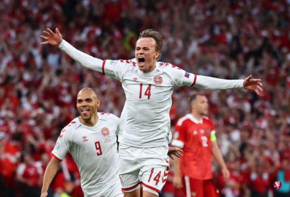 歐洲盃-Poulsen-丹麥大勝俄羅斯-晉16強-SPORT598體育新聞7452