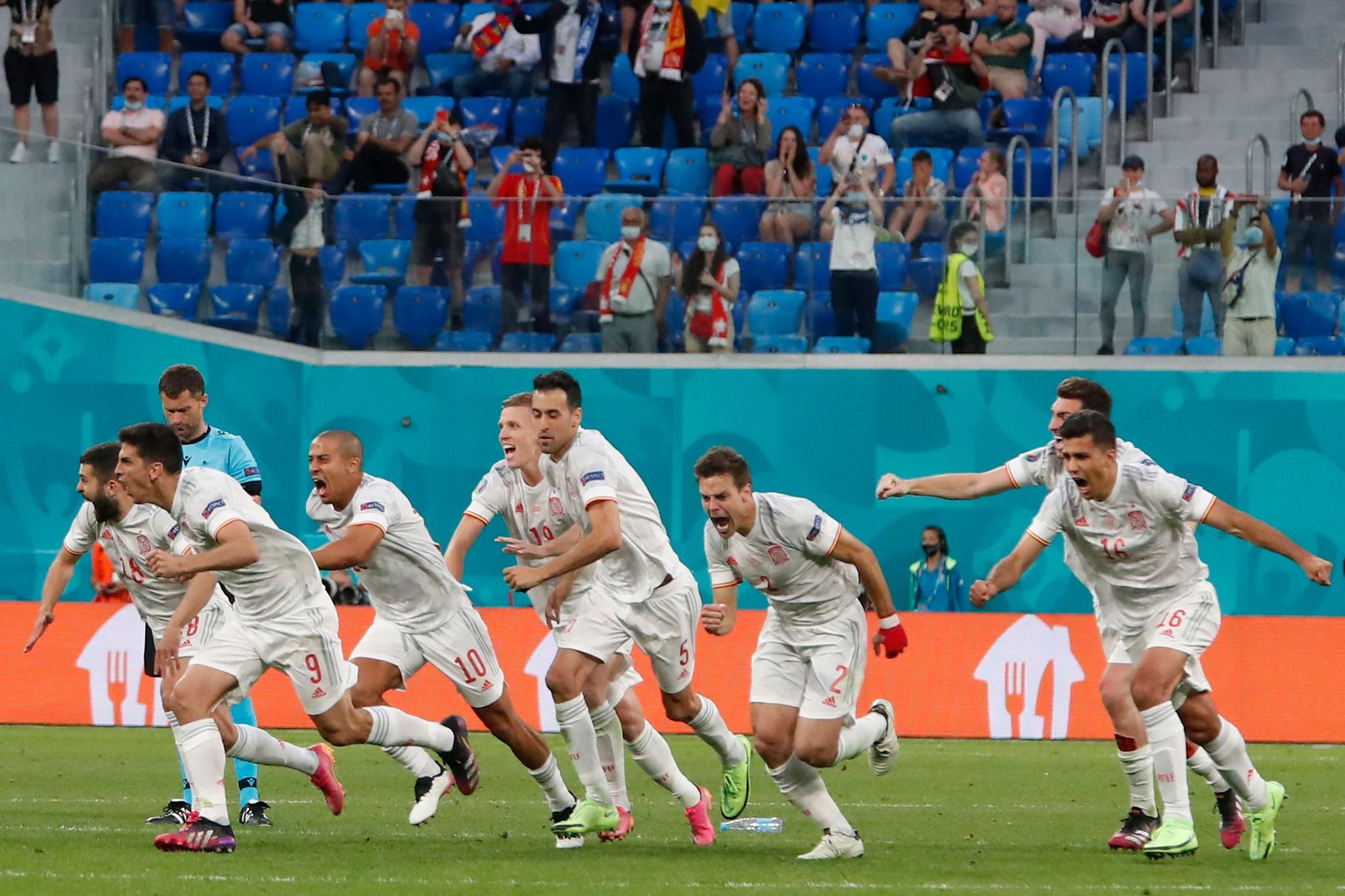 歐洲杯-西班牙PK勝瑞士晉級4強Pedri-SPORT598體育新聞6632